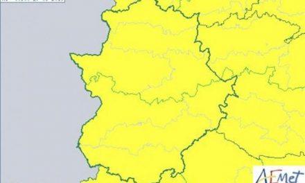 La Agencia Estatal de Meteorología activa el aviso por tormentas en toda Extremadura