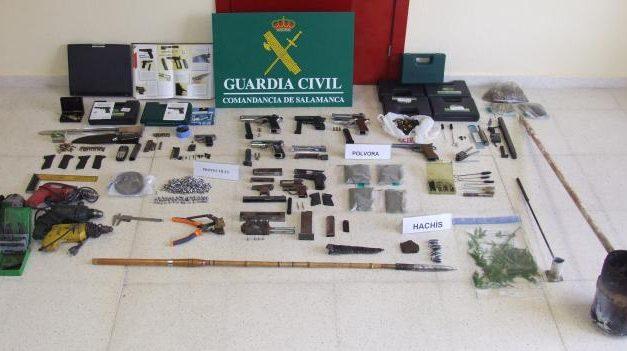 Detienen a un vecino de Zarza de Granadilla acusado de integrar una banda de tráfico de armas de fuego