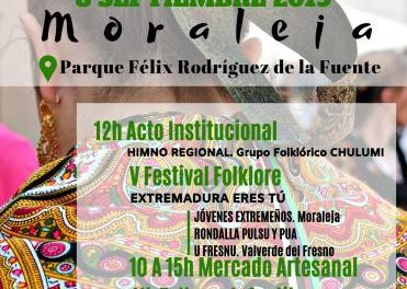 Moraleja celebra el Día de Extremadura con folklore, cultura, artesanía y gastronomía de la región