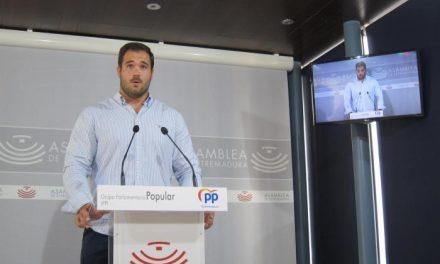 """El PP insta a la Junta a ponerse """"las pilas"""" para evitar que los datos de desempleo sean """"aún peores"""""""