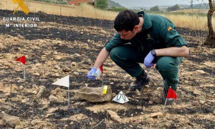 La Guardia Civil detiene a 38 personas por su implicación en incendios forestales en Extremadura