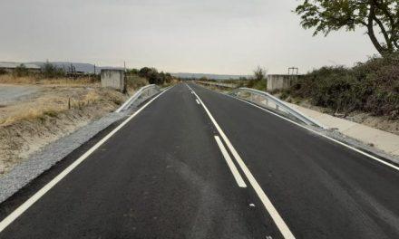 Acondicionada la carretera CC-84 que une Carcaboso con Valdeobispo que estaba afectada por los regadíos