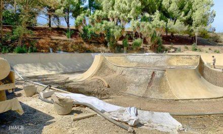 El alcalde de Coria prevé que las obras del skate park finalicen en menos de dos meses