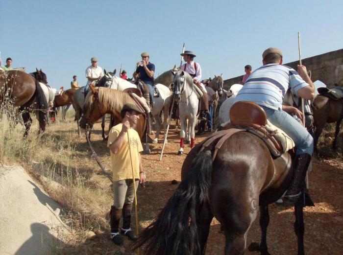 Medio centenar de caballistas participa en la IX Concentración Hípica de Hoyos