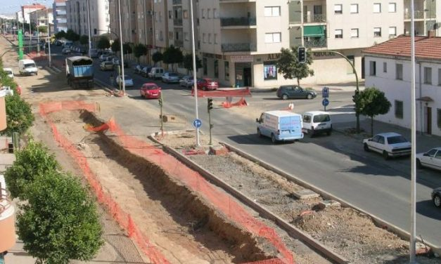 La Junta anunció ayer que las obras de la avenida Pureza Canelo concluirán el próximo septiembre