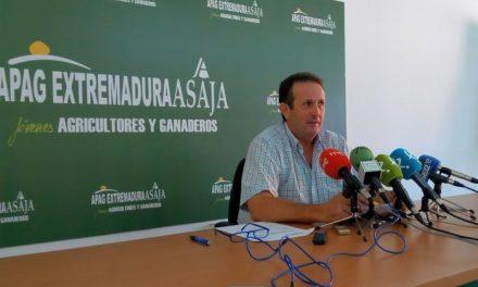 """APAG Extremadura Asaja reclama a la Junta medidas """"reales"""" contra la sequía de la región"""