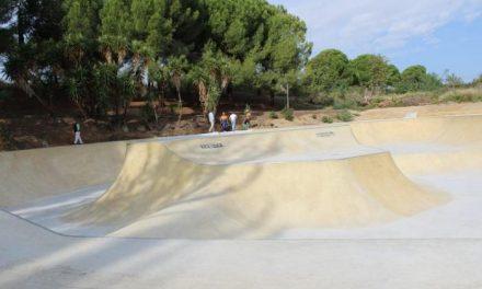 El Ayuntamiento de Coria ultima los detalles del skate park ubicado en el parque de Cadenetas