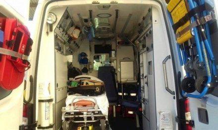 Una mujer sufre traumatismo en la columna en un accidente laboral en una finca en Pradochano