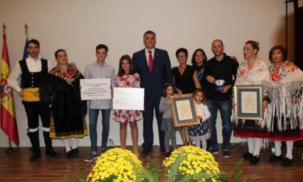 Coria premia a diferentes personas de la localidad con motivo de los III Premios San Pedro de Alcántara