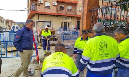 Coria invierte 300.000 euros en renovar la Avenida Monseñor Riberi