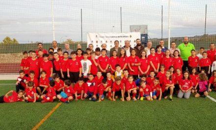 El Ayuntamiento de Valencia de Alcántara inaugura la primera escuela de fútbol base