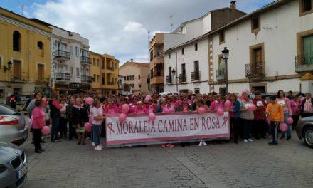 El Mes Rosa de Moraleja recauda más de 2.500€ que destinarán a la Asociación Oncológica de Coria