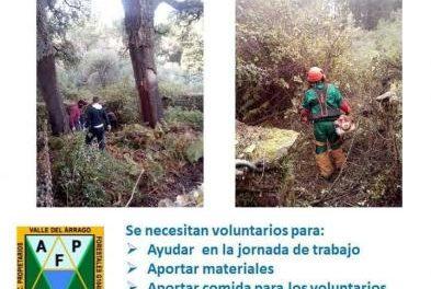 La Asociación Mosaico busca voluntarios para la restauración de una majada en Descargamaría