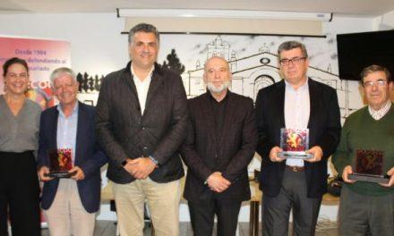 ASECOC reconoce la trayectoria empresarial de tres empresarios de la ciudad de Coria