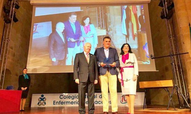 El Colegio Oficial de Enfermería de Cáceres reconoce la aportación de Coria en el ámbito sanitario