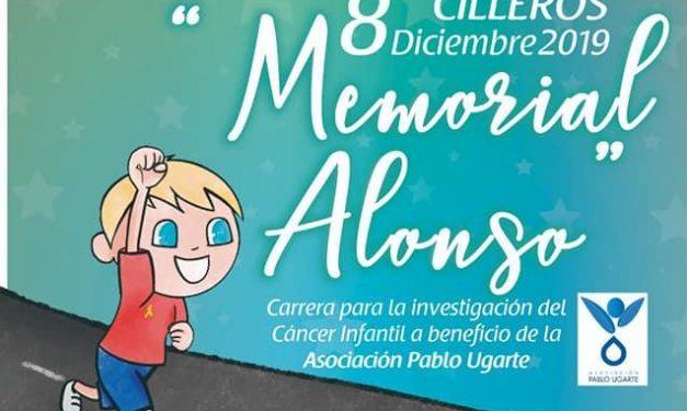 """Más de 1.000 personas participarán en el """"Memorial Alonso"""" para luchar contra el cáncer infantil en Cilleros"""