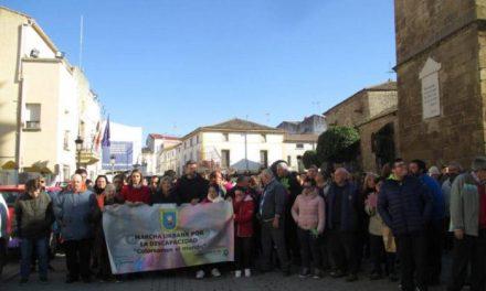 Más de 1.000 personas se dan cita en Moraleja para desfilar en la III Marcha por la Discapacidad