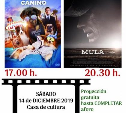 """Los vecinos de Moraleja disfrutarán de una nueva edición de """"Sábados de Cine"""" con dos películas"""