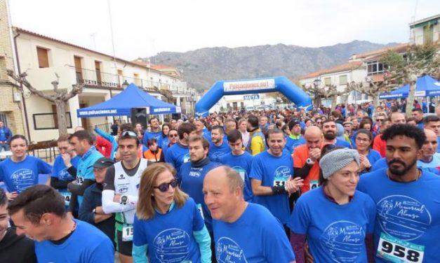 """El Ayuntamiento de Cilleros califica el primer """"Memorial Alonso"""" como una cita solidaria emotiva"""