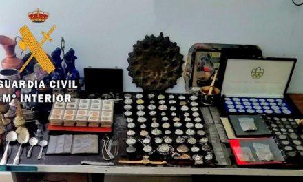 Detenido el presunto autor del robo en una vivienda y recupera un botín valorado en más de 120.000 euros
