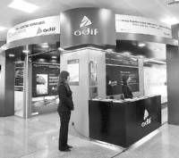 El punto informativo sobre la línea de alta velocidad Madrid-Badajoz recibe 325 visitas en una semana