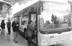 El Ayuntamiento de Badajoz estudia reducir la frecuencia en algunas líneas de autobús a 20 minutos