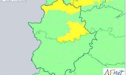 La Agencia Estatal de Meteorología activa el aviso amarillo por fuertes vientos en el norte de Cáceres