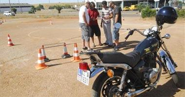 El número de exámenes para obtener el carnet de moto se triplica en la Comunidad Autónoma de Extremadura