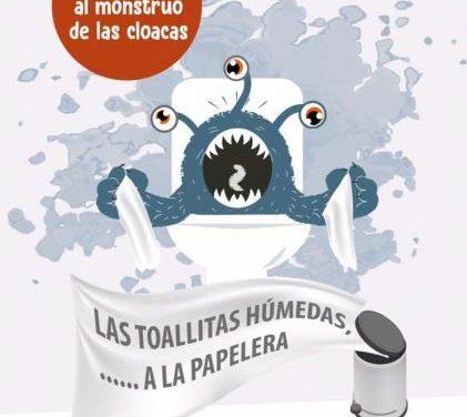 El Ayuntamiento de Moraleja inicia una campaña para no arrojar toallitas húmedas por el inodoro