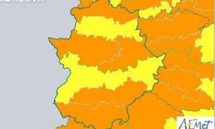 El 112 activará este jueves la alerta naranja en varias comarcas de Extremadura por viento