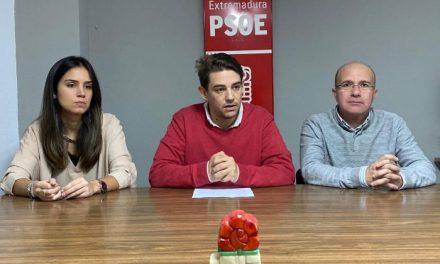 El PSOE de Coria demanda al ayuntamiento acciones que fomenten el desarrollo de la ciudad