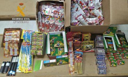 Retirados 12.500 artículos pirocténicos expuestos para su venta ilegal en Badajoz, Mérida y Almendralejo