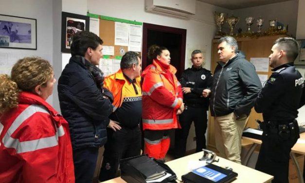 Coria activa el Plan de Inundaciones ante la fuerte crecida del río Alagón a causa del temporal