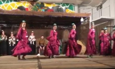 El frío no impide que la Nochebuena Flamenca Bajo las Estrellas de Moraleja cuente con numeroso público