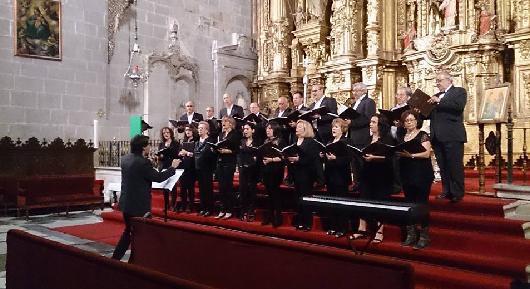 La Iglesia de San Ignacio de Coria acogerá este sábado un concierto de la Coral Cauriense