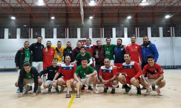 El equipo de La Alhambra se proclama campeón del XXVIII torneo de navidad de fútbol sala