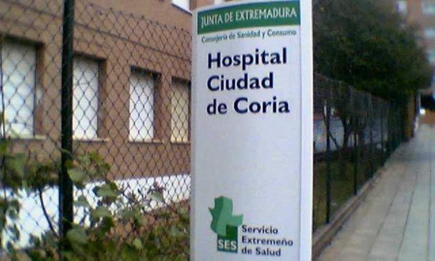 El Hospital Ciudad de Coria aún no ha recibido al primer recién nacido de esta nueva década