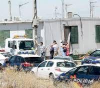 Cuatro agentes de la Policía local de Badajoz resultan heridos en una actuación en Cuestas de Orinaza