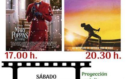 """Moraleja celebrará una nueva edición de """"Sábados de Cine"""" con la proyección de dos nuevas películas"""