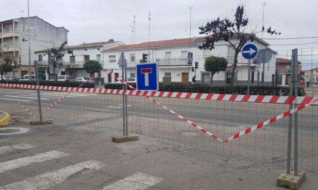 Moraleja habilita dos rotondas y cuatro accesos para la circulación de vehículos en las avenidas
