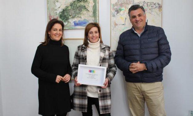 """Churrería Sama se vuelve a convertir en la ganadora del concurso de terrazas """"Coria siéntela"""""""