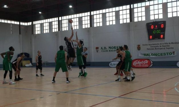 La AD Moraleja CB se enfrentará este sábado al Coria Basket en el Pabellón Adolfo Suárez