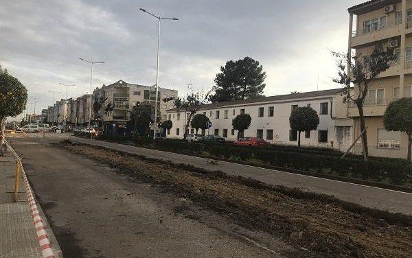 El consistorio de Moraleja estima que las obras de las avenidas finalicen en el plazo de seis meses