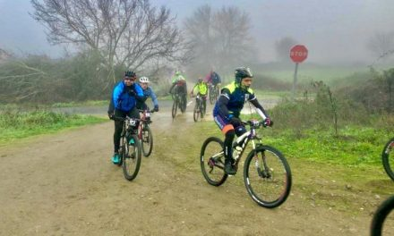 Un total de 250 ciclistas de toda la región recorrieron el entorno de Coria en la XIII Marcha BTT
