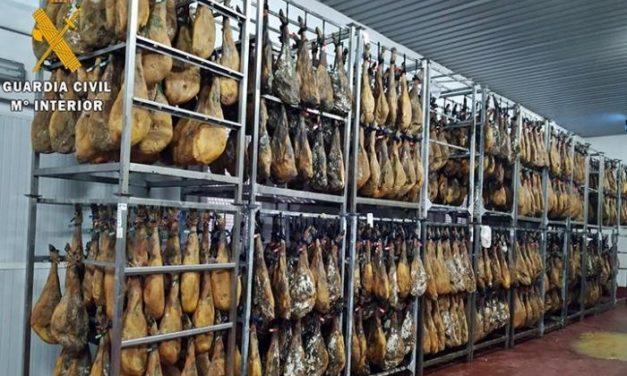 Trece investigados por comercialización ilegal de productos cárnicos en empresas de Badajoz