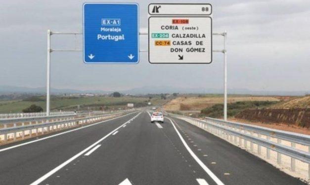 La Junta invertirá 400.000 euros para la licitación del proyecto de la autovía EX-A1 desde Moraleja a Portugal