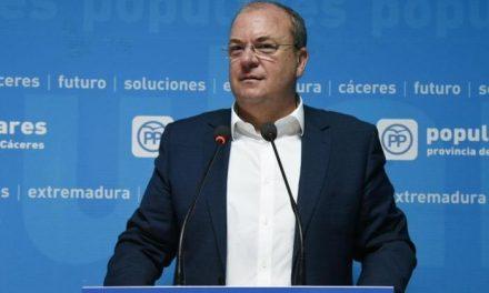 El presidente del PP José Antonio Monago presidirá la Comisión de Presupuestos del Senado