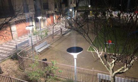 Moraleja invierte cerca de 3.000 euros en la sustitución de la luminaria de la Plaza Emeterio Martín