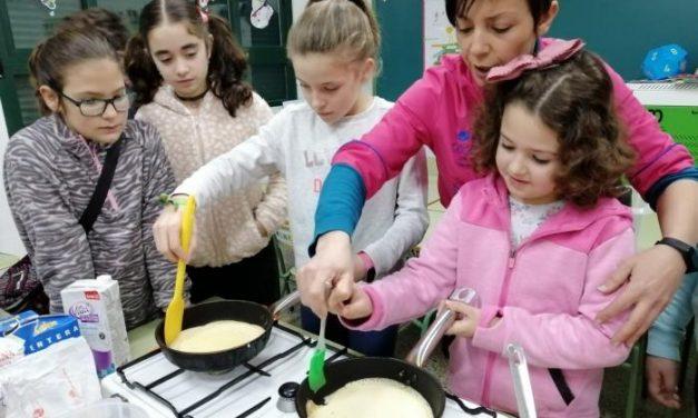 Diez colegios de Sierra de Gata participan en los talleres de consumo responsable de alimentos