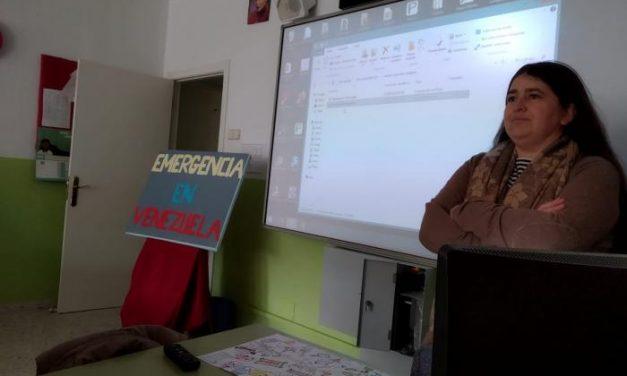 El colegio Sagrado Corazón de Coria realiza una campaña solidaria a favor de Venezuela
